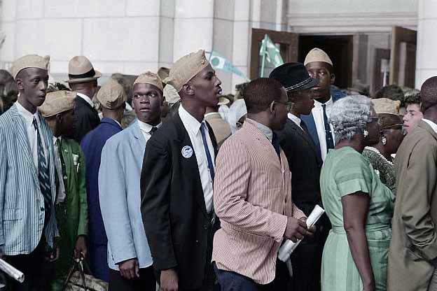 NAACP-black-protest-march-on-washington-colorized